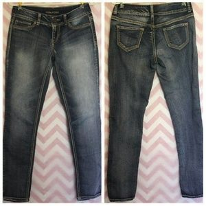 Maurices Jeans - Maurices Medium Wash Skinny Jeans Size S-R